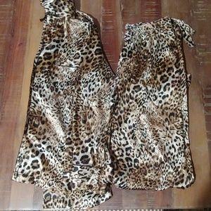VS Leopard Pajama set